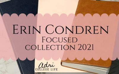 Erin Condren Focused Collection 2021: You Need It!