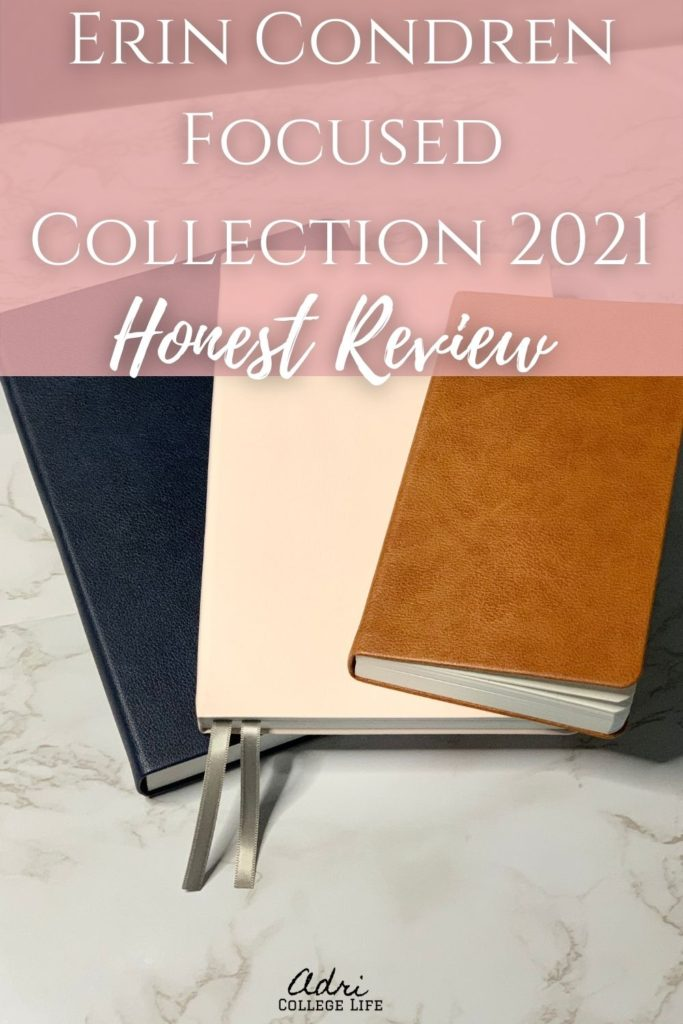 The Erin Condren Focused Planner Collection is here and it is beautiful. Check out an honest review of the 2021 Erin Condren Focused Planner collection.
