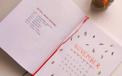November Bullet Journal Spread Ideas You Need To Try