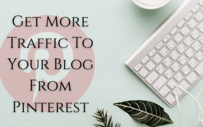 Traffic From Pinterest | Get More Traffic To Your Blog Today!